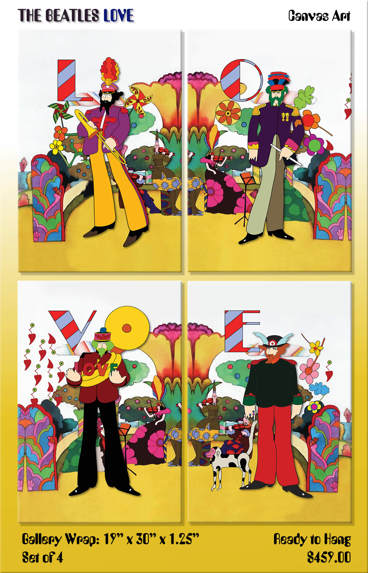 Yellow Submarine Art